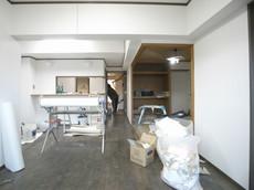 高リビングキッチン和室施工中 (2).JPG